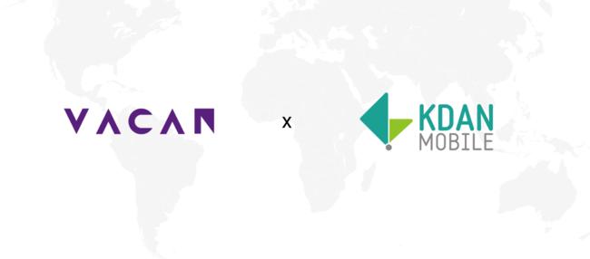 「Kdan Mobile Software」と株式会社バカンが台湾展開に向けて協力